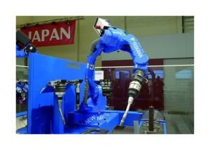 Motoman MA1440 ergänzt das Robotik-Portfolio von Yaskawa um einen Sechs-Achser zum Lichtbogenschweißen | Bildquelle automationnet.de