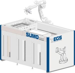 SUMO Megaplex für die Handhabungs- und Fertigungsprozesse größerer Werkstücke